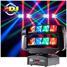 American DJ Crazy Pocket 8 Moving Head