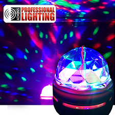 LED Disco Party Bulb