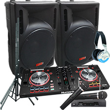 Mixdeck Express DJ System Package with Serato