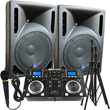 1/2 Price Sale on DJ systems, Dj equipment, dj sound systems, cheap