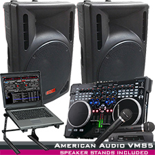 American DJ VMS4.1 Digital MIDI Work station System Package