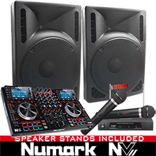 NV Digital DJ System Package with Serato DJ Software