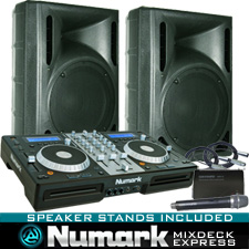 MixDeck Express Digital DJ System with Serato DJ Software