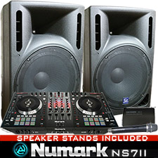 NS7II Performance DJ System with Serato DJ Software