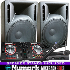 Numark MixTrack Pro II DJ System with Serato DJ Software