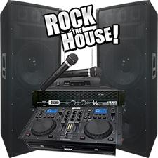 6100 Watts - DJ System - Dual 15