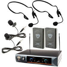 Nady DKW-DUO/LT Wireless Mic System