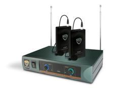 NADY DKW-DUO LT Lavalier Dual Channel Wireless Mic System