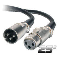 Chauvet 3 Pin 25' DMX Cable