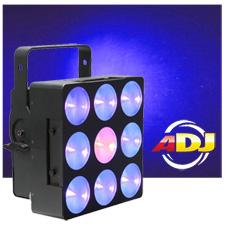 American DJ DOTZ Brick 3.3 3x3W COB Tri LED Wash