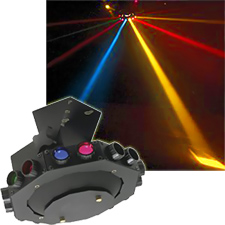 Venus Multicolored DJ Light