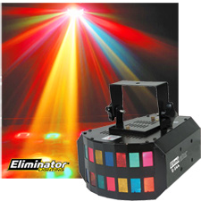 Mini-Gressor Multicolored DJ Light