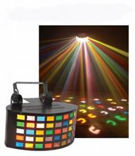 Triple Derby Multicolored Beam Light