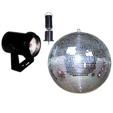 8 Motorized Mirror Ball Package