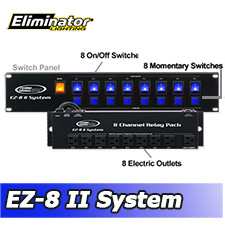 EZ8 II System - 8 Channel Lighting Control System