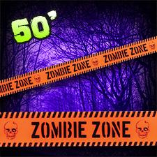 Caution Tape - Zombie Zone
