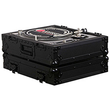 Odyssey BLACK LABEL SINGLE TURNTABLE FLIGHT CASE