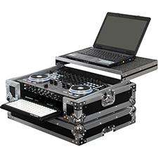 Odyssey AMERICAN AUDIO VMS4 DJ CONTROLER GLIDE STYLE CASE WITH BOTTOM GT GLIDE TRAY