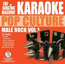 Karaoke Pop Culture Male Rock Volume 1
