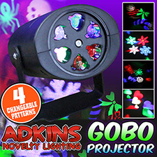 Adkins Novelty Lighting  Gobo Projector