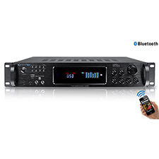 Technical Pro Digital Hybrid Amplifier / Preamp/ Tuner with USB and SD Card Inputs with Bluetooth