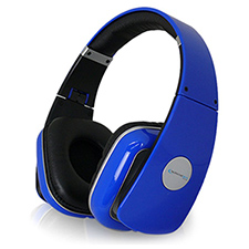 Technical Pro SuperBass Professional Headphones - Blue