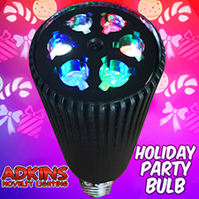 Adkins Novelty Lighting  Holiday Party Bulb