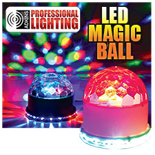 Adkins Pro Lighting LED Magic Ball