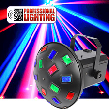 Adkins Professional Lighting Tri Color LED Mushroom - DMX