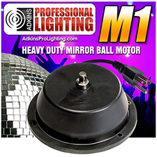 Adkins Pro Lighting Mirror Ball Motor