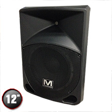 "Marathon MA-12P Active 12"" 2-Way ABS Loudspeaker"