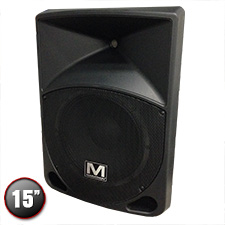 "Marathon MA-15P Active 15"" 2-Way ABS Loudspeaker"