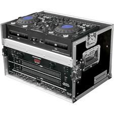 Marathon MA-DCM4U Flight Ready DJ CD Mix-Station Case with 4U Rack Space
