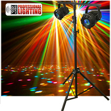 Micro Moonflower LED Lighting Package 2 Micro Moonflowers & Stand