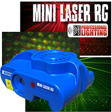 Adkins Pro Lighting Mini Laser RG
