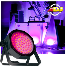 American DJ Mega Go Flood Par HO LED Par