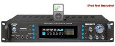 Pyle Pro P3002AI 3000W AM/FM Receiver Amplifier with iPod Dock