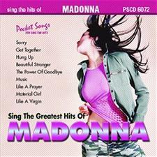 Madonna Karaoke Music