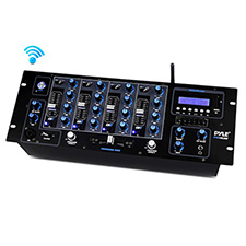 Pyle Pro 4-Channel Bluetooth DJ Mixer