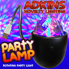 Adkins Novelty Lighting  Party Lamp