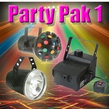 Party Pak 1 - Fogger - Strobe - Astroid