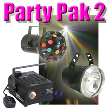 Party Pak 2 - Fogger - Strobe - Astroid