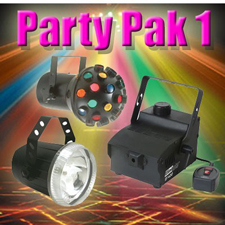 Party Pak 1 - Fogger - Strobe - Astroid