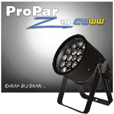 Blizzard Lighting ProPar Z19™ CWWW - Black Case