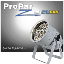 Blizzard Lighting ProPar Z19™ CWWW - White Case