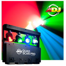 American DJ Quad Scan Pro RGBW LED Scanner