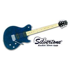 Silvertone Fastback - Transparent Blue