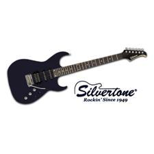 Silvertone Shredder - Metallic Black