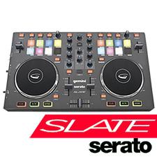 Gemini Slate 2-Channel Serato DJ Intro Midi Controller
