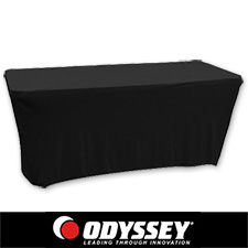 Skrim Werks Table Slip Screen 6 Foot Black